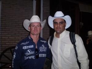 Cody Navarre e Eugênio José em Barretos em 2008