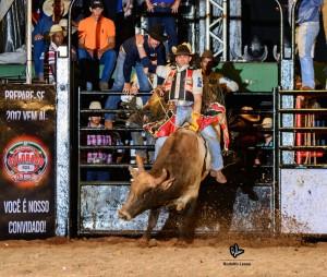 Anderson vencendo rodeio individual de Colorado na primeira semana. Foto - Rodolfo Lesse