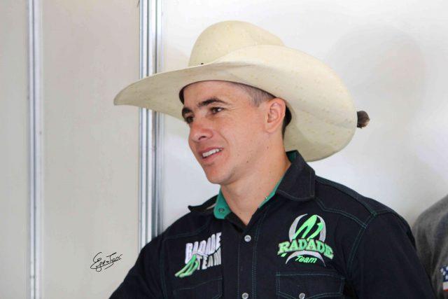 Giliardi Antônio durante o sorteio de Rio Verde - Foto Eugênio José