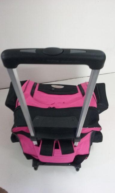 mochila de rodinha rosa 008