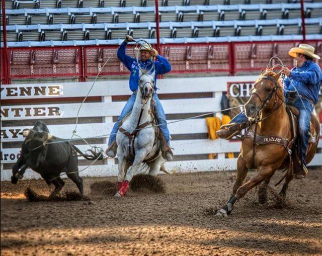 Kaleb e Nogueira em Cheyenne - Foto: Reprodução