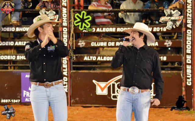 Dudu Ramires com Fiduma na Arena de Alto Alegre - Foto: Janaína Cardoso